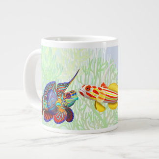 Saltwater Reef Goby Fish Jumbo Mug