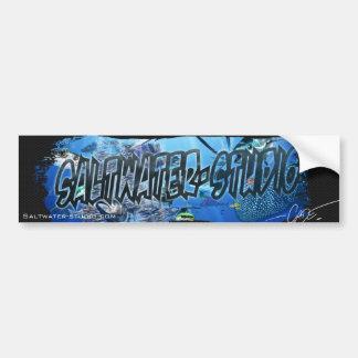 Saltwater-studio sticker car bumper sticker