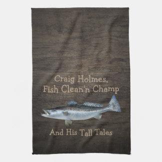 Saltwater Trout Fishing•Custom Towels