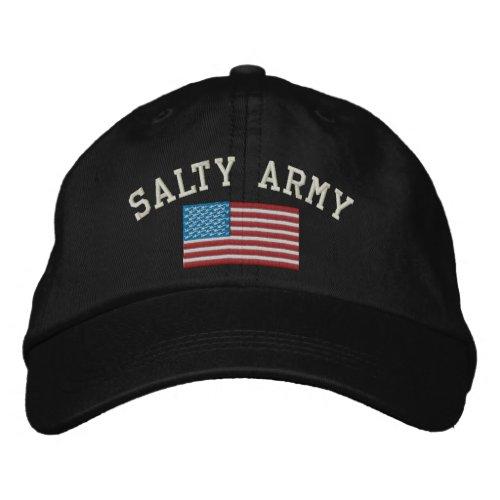 Salty Army Adjustable Baseball Hat