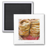 salty baked goods 2 inch square magnet