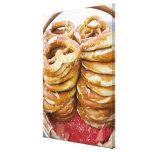 salty baked goods canvas print