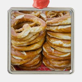 salty baked goods metal ornament