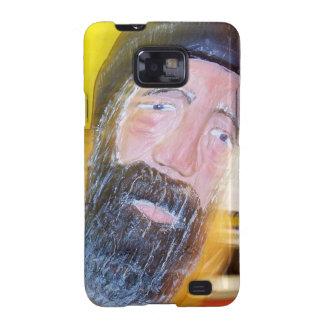 Salty Bearded Sailor Man Samsung Galaxy S2 Case