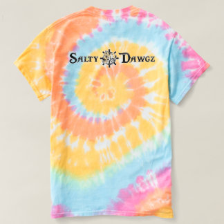 Salty Dawgz Spiral Tie Dye T-shirt