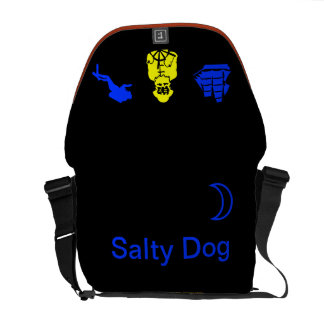 Salty Dog Rickshaw Messenger Bag