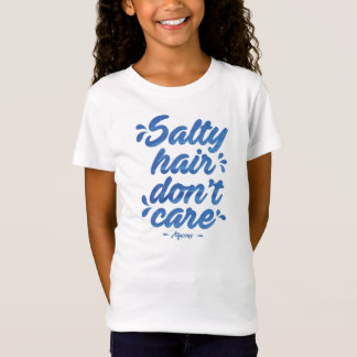 Salty Hair (Girl's) T-Shirt