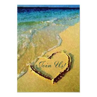 Salty Heart Wedding Invitations