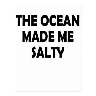 salty postcard