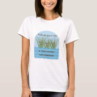 Salty Pun T-Shirt - Customize Shirt Type + Color!