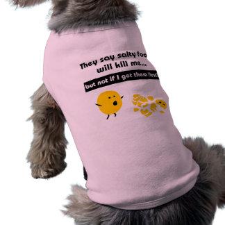 Salty Snacks Pet T Shirt