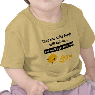 Salty Snacks Infant T-Shirt
