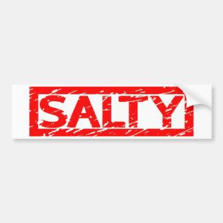 Salty Stamp Bumper Sticker