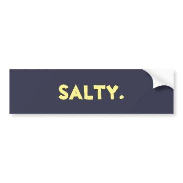 """alw_webkinz """"Salty."""" Sticker"""