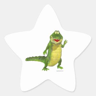 Salty the Crocodile Sticker