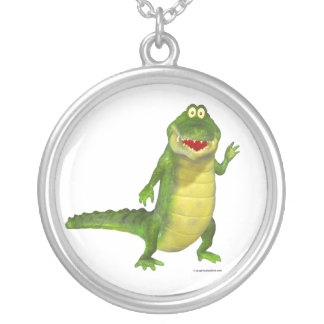 Salty the Toon Crocodile Necklace