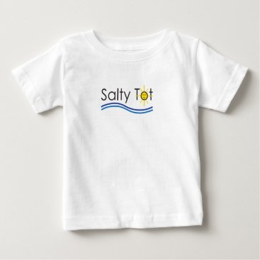 Beach Themed Salty Tot Shirt