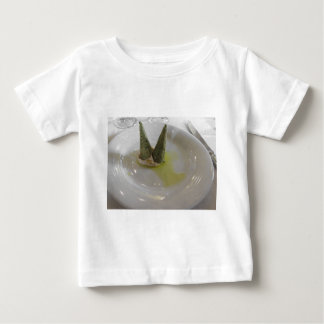 Salty waffle cone with bacon mousse baby T-Shirt