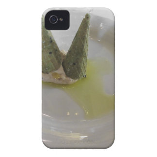 Salty waffle cone with bacon mousse iPhone 4 Case-Mate cases