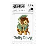 SaltyDawg-2 Postage Stamps