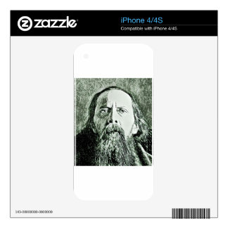 Saltykov Shchedrin Decal For iPhone 4