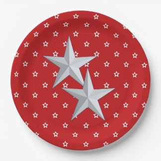 Salubration Veterans Day Party Paper Plates