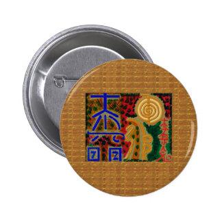 Salud curativa de la PLANTILLA del arte del Pin
