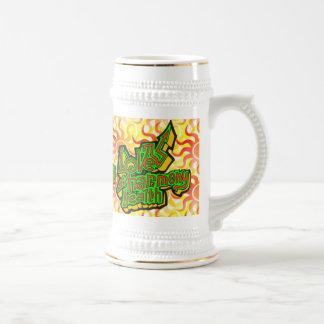 Salud de la armonía del amor taza de café
