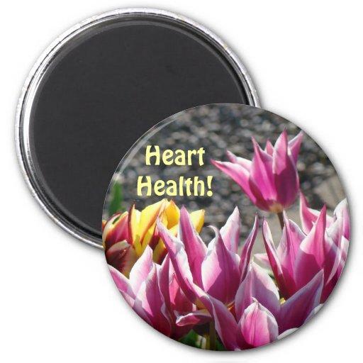 ¡Salud del corazón! jardín de flores floral del tu