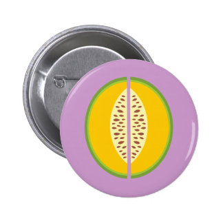 Salud del dulce de la fruta de Mushmelon del Pin Redondo De 2 Pulgadas