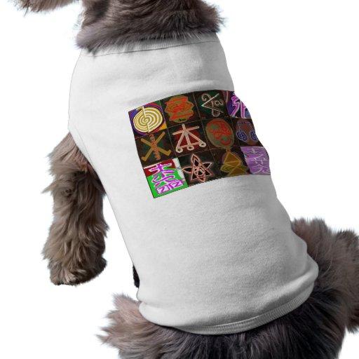 Salud del PERRITO: Variedad curativa de los símbol Camisas De Mascota