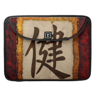 Salud del zen del kanji fundas macbook pro
