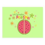 Salud dulce de la fruta de la sandía de la sandía postal