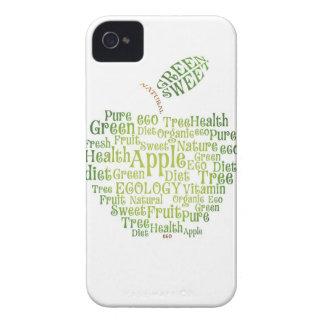 Salud Eco verde amistoso iPhone 4 Cárcasa