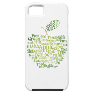 Salud Eco verde amistoso iPhone 5 Case-Mate Coberturas