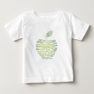 Salud Eco verde amistoso Playera De Bebé