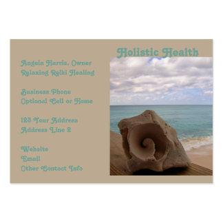 Salud holística de Reiki de la medicina Tarjetas De Visita Grandes