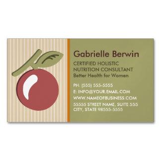 Salud holística femenina de las mujeres del tarjetas de visita magnéticas (paquete de 25)