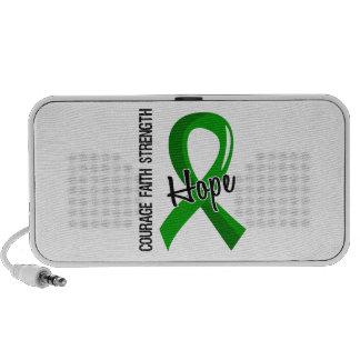 Salud mental de la esperanza 5 de la fe del valor laptop altavoz