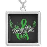 Salud mental del guerrero 16 collar plateado