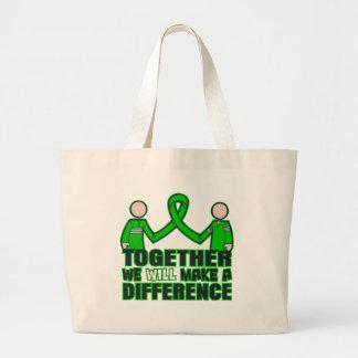Salud mental junto haremos un Difference.p Bolsas De Mano