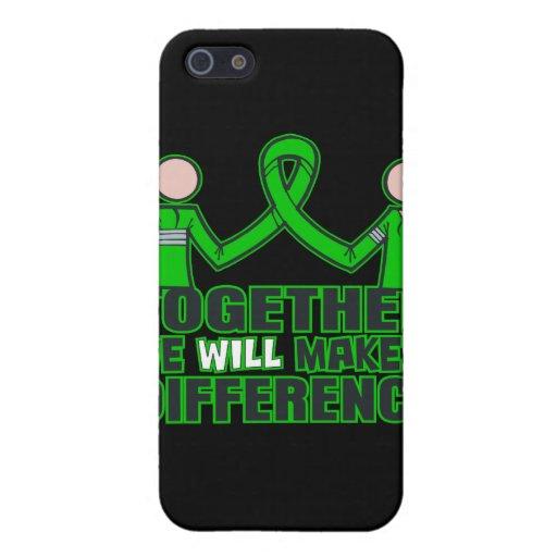 Salud mental junto haremos un Difference.p iPhone 5 Protectores