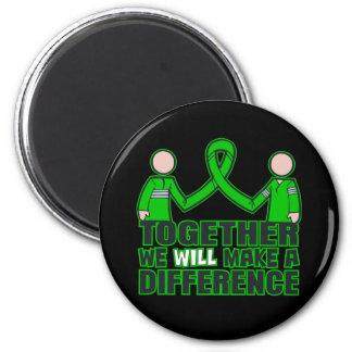 Salud mental junto haremos un Difference.p Imán Para Frigorífico