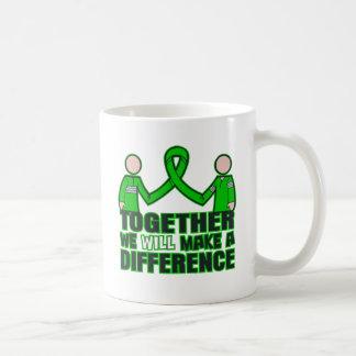 Salud mental junto haremos un Difference.p Taza