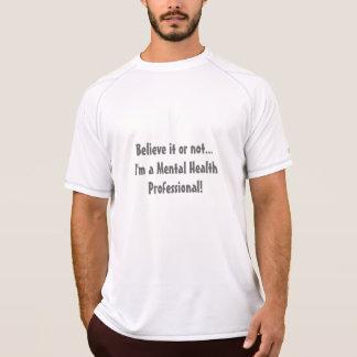 Salud mental Profesional-Psych. Humor de la Camiseta