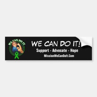 Salud mental - Rosie el remachador - podemos hacer Pegatina De Parachoque