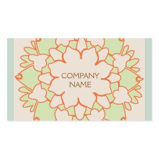 Salud y belleza holísticas naturales lindas de tarjetas de visita