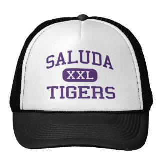Saluda - tigres - alto - Saluda Carolina del Sur Gorro De Camionero