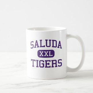 Saluda - tigres - alto - Saluda Carolina del Sur Taza