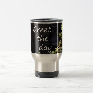 salude el día con jade del bebé taza de viaje de acero inoxidable